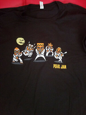 Pearl Jam Halloween Shirt 2017 Ten Club Exclusive Size L Brand New Ready to Ship