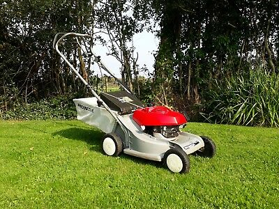 honda hrb 476 c self propelled petrol mower running but. Black Bedroom Furniture Sets. Home Design Ideas