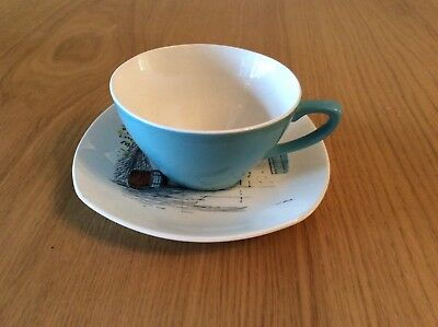 Midwinter 1960 Hugh Casson 'Cannes'  cup & saucer