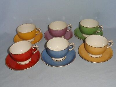Art Deco 'Harlequin' coffee set