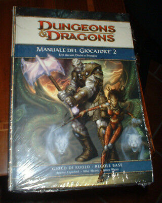 MANUALE FANTASY - DUNGEONS DRAGONS - manuale del giocatore 2 - IT.
