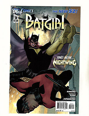 Batgirl #3 (2012, DC) NM Adam Hughes Cover! New 52 Barbara Gorden