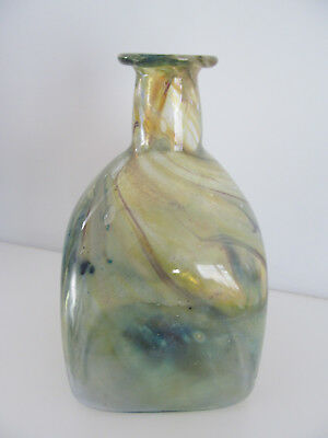 Peter Layton Studio Glass Vase 1970S