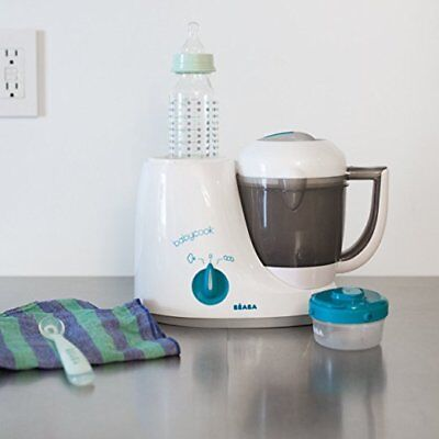 BEABA Babycook Original Plus 6 in 1 Steam Cooker, Blender, and Bottle Warmer.