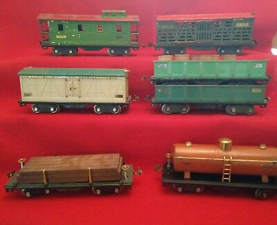 Lionel Standard Freight Cars Lot 3, 500 Series *1927