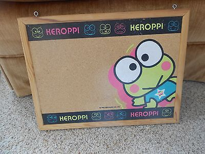 Sanrio Keroppi The Frog Cork Board 1996