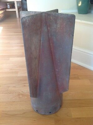 Rare Ww2 Battle Of Britain Original Luftwaffe Sd-50 Fin Tail