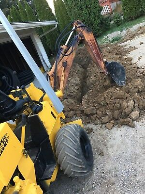 Case 360 Trencher With Backhoe