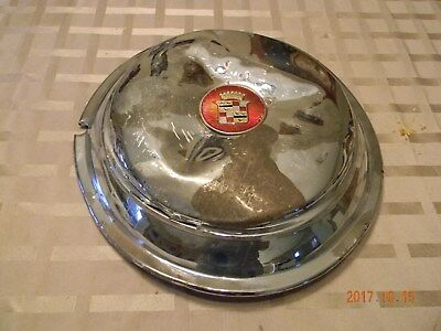 1930's Cadillac Hubcap with Rubber