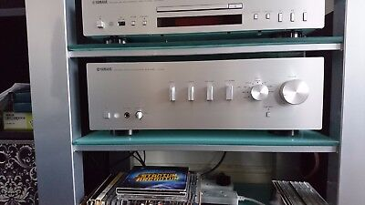 Yamaha A S501 hifi stereo amplifier, excellent condition,fully working + remote