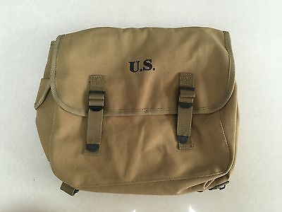 Wwii Us Army M1936 M36 Musette Field Back Pack Haversack Bag -1605