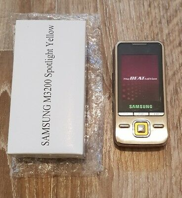 Samsung cell mobile flip slide phone M3200 boxed unused dummy display model