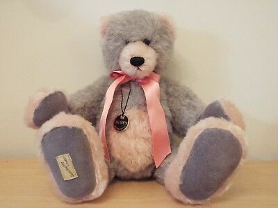 "14"" tall Limited Edition Dean's Rag Book Bear MORETON JEFFRIES No 20 of 25"