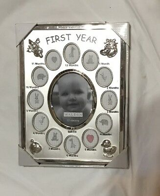 12 Month Baby Picture Frame
