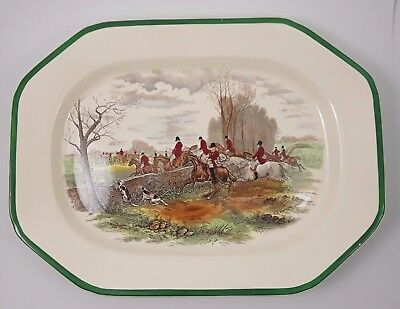 "Spode  Platte ""The Hunt"""