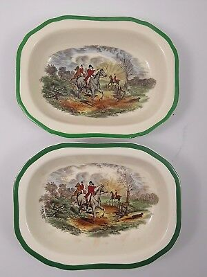 "Spode 2 Schalen ""The Hunt"""