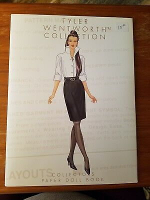 2000 New Uncut Paper Dolls - Tyler Wentworth Collection by Robert Tonner