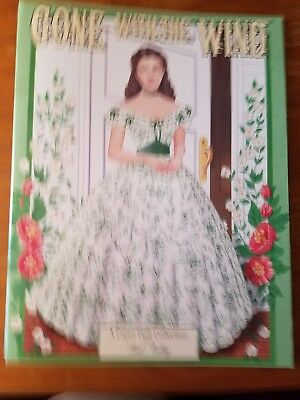 1999 Vintage New Uncut Paper Dolls - Gone With The Wind by Peck Audry