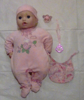 Baby Annabell Interactive _some accessories.