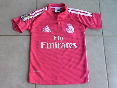 REAL MADRID  Maillot Football Enfant 6 Ans flocage n° 8 Kroos Galactiques Adidas
