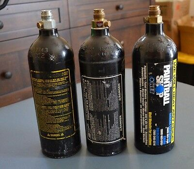 CO2 Empty Tank Cylinders 20 oz. Paintball, Brass Eagle ONLY 1 LEFT