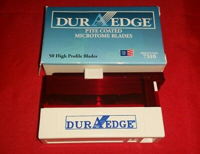 New DUR A EDGE 7310 High Profile PTFE Microtome Blades (pack of 50)