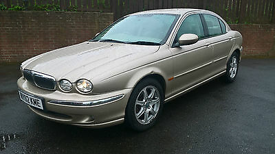 02 Jaguar X-Type 2.0  ONLY 38,000 MILES  Project - SPARES OR REPAIRS NO MOT!!!