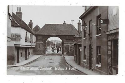 Superb Animated Real Photographic Postcard Of Barbican Sandwich Kent