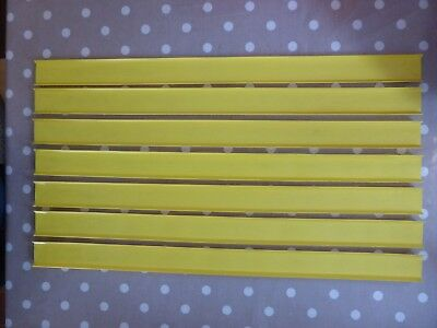 Vintage Yellow Matchbox Superfast Track Lengths x7 1970s