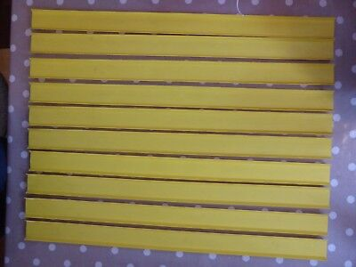 Vintage Yellow Matchbox Superfast Track Lengths x10 1970s