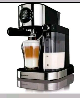 Silvercrest  Espresso With Milk Frother Coffee Machine!!
