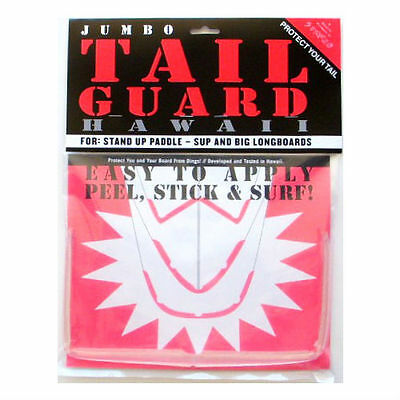 JUMBO SUP TAIL GUARD, Tail Protector, Tail Bumper, SUP Board Tail Guard, *Clear*