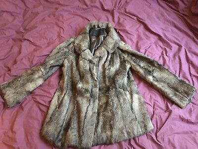 Vintage Real Fur Coat 12