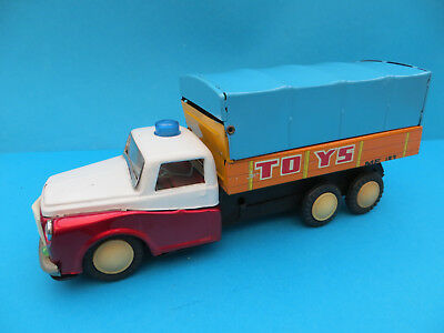 Vintage China MF 193 Toys very rare and big lorry tin toy made in Red China