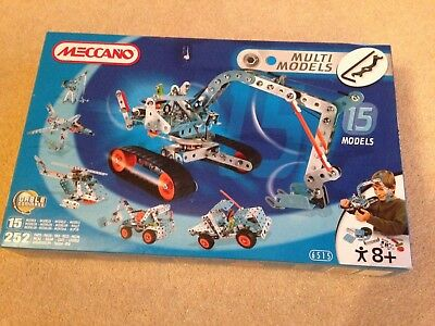 Meccano Multi Model Set  No.6515 - 15 models BNIB