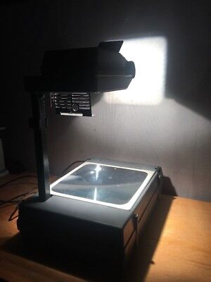 3M 2000 Folding Portable Overhead Transparency Projector Tested Excellent A+