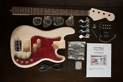 Diy Guitar Kit  J Bass I  Style : Right Handed
