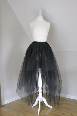 Thierry Mugler Paris Couture Tulle Gothic Skirt Fr 40