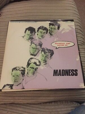 """Madness - Tomorrow's Just Another Day 12"""" Single"""