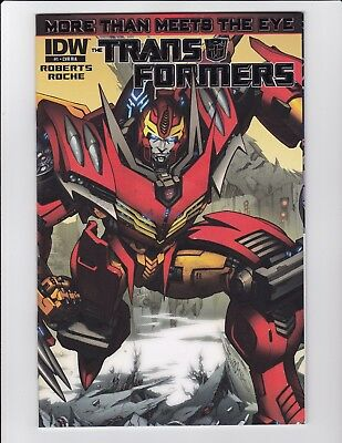 Transformers More Than Meets The Eye #1 Gatefold Foil 1:10 Variant Ria Nm- Idw
