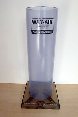 """WAT-AIR Roll Film Washer 12"""" Pfefer Products Darkroom Film Processing Developing"""