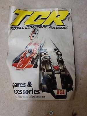 IDEAL TCR slot cars & track