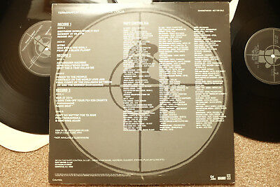♫ Public Enemy Fear Of A Black Planet Promo 3 Lp Terminator X Performance Listen