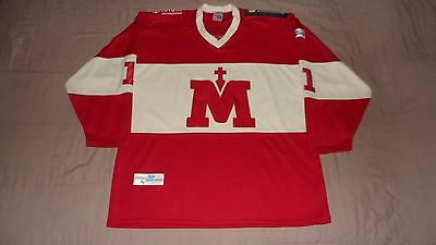 Montreal La Serie Montreal-Quebec GameWorn by #11 Daniel Boileau Hockey Jersey