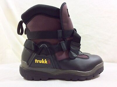 NICE Authentic Trukke Snow Motion Boots Mens Sz 9 Womens 11 Snowmobile Winter