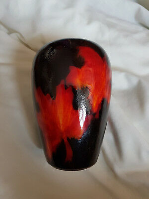 Poole Pottery Forest Flame 17cm Vase - Stunning - Perfect Condition