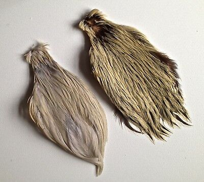 2 Quality Fly Tying Capes