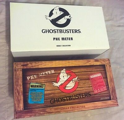 Mattel Matty 2010 Ghostbusters PKE Meter Adult Collectible Prop Replica w/ Boxes