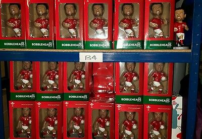 12 x Wales Bobbleheads, rugby, official merchandise, clearance carboot bargain