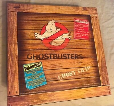 Mattel Matty 2010 Ghostbusters Ghost Trap Adult Collectible Prop Replica w/Boxes